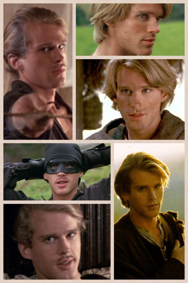 Cary Elway (Westly in The Princess Bride / La Princesa Prometida)