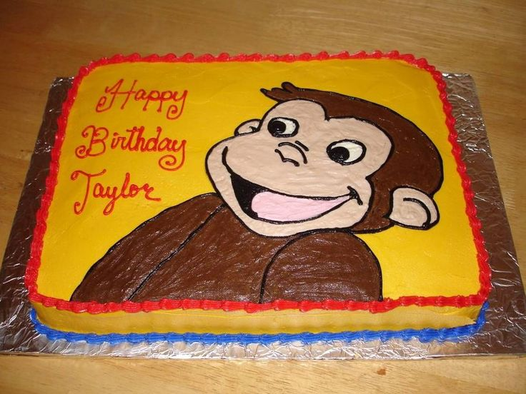 curious george cake template - 274 best curious george cake designs images on pinterest