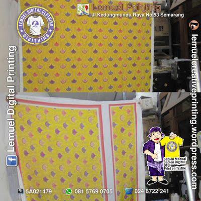 Custom Print Textile Kain Kanvas Tebal (Poly Kanvas) Berkualitas by DIGITHING