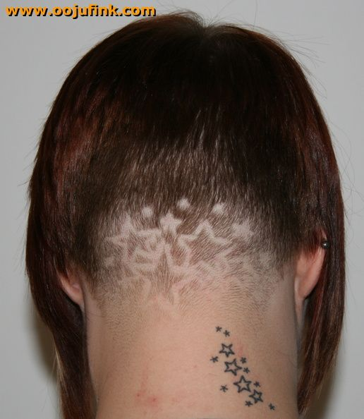 30 Lovely Nape Tattoos For Girls: 107 Best Images About Clipper Design On Pinterest