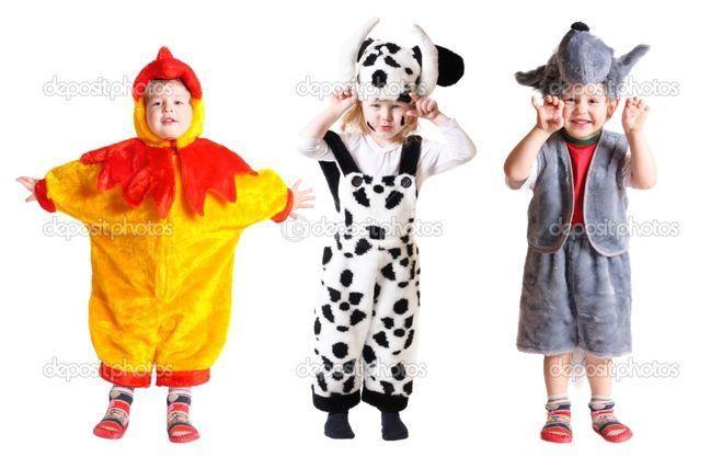 Сшить ребенку новогодний костюм