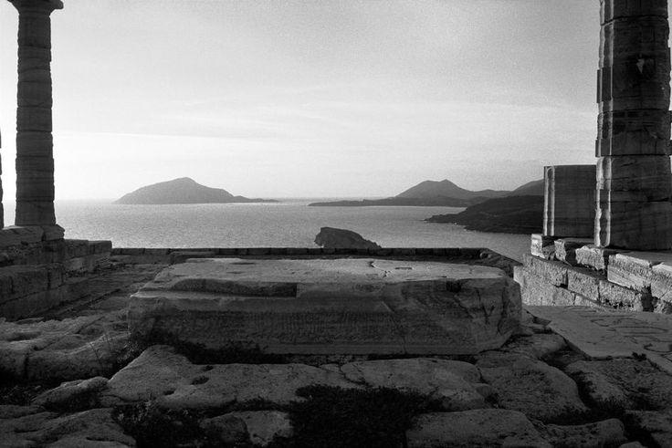 Josef Koudelka - GREECE. Attica. Cape Sounion. Temple of Poseidon. 2003