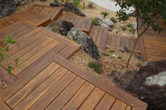 Timber Decking Ideas by WATERSHEILD