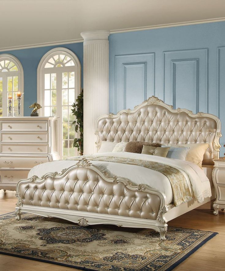 Acme Furniture Bedroom Set Acme Chantelle Queen Bed with
