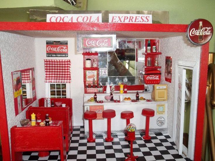 Dollhouse Room Cafe Bar Diy