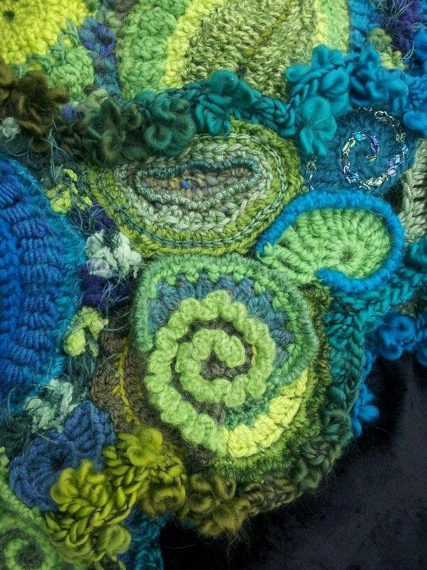 The 189 best freeform crochet images on Pinterest   Freeform crochet ...