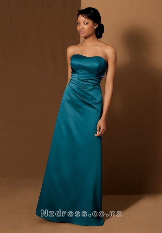 Product Description    Item:FLBD-043    Shipping Weight:2kg    This  kind of bridesmaid dresses features elegant design. The real goods will  be 95% matched with the photo.Silhouette: A Line Neckline: Strapless Waist: Empire Hemline / Train: Floor Length Sleeve Length: Sleeveless  Back Details: Zipp