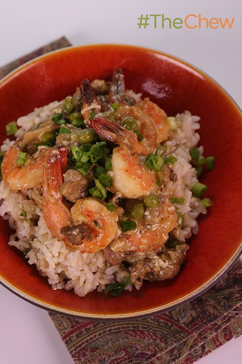 Shrimp With Lobster Sauce by Clinton Kelly - whip up this simple and delicious seafood dish tonight! #TheChew