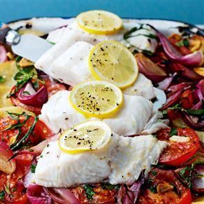One-pan roast fish Recipe | delicious. Magazine free recipes