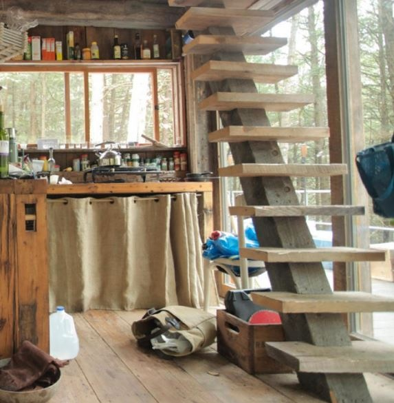 Apartments Around The World: 107 Best Images About Tiny House Stairs On Pinterest
