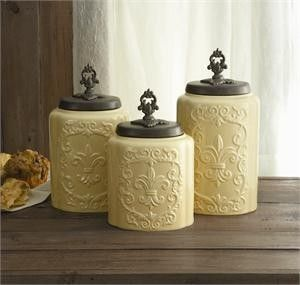 165 best home: kitchen canisters images on pinterest | kitchen
