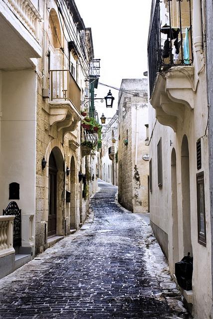 Victoria Streets, Gozo by alexbaxterca, via Flickr