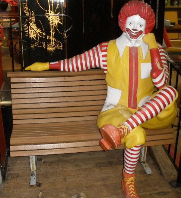 RONALD MCDONALD SEAT ON BENCH | When I Was Young | Retro ...