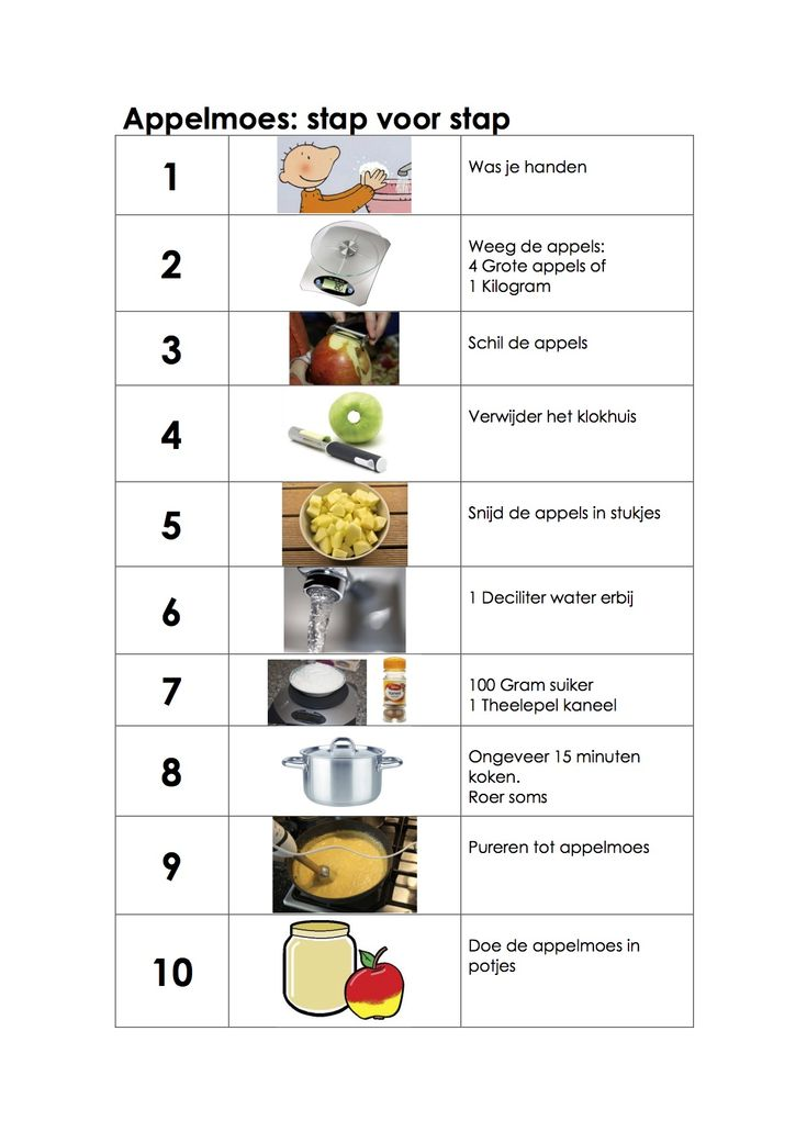Appelmoes maken: Stap voor stap #herfst #voeding #kleuters