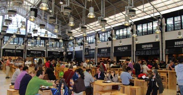 Mercado da Ribeira, Lisboa - Portugal ♥ O Guia de Portugal