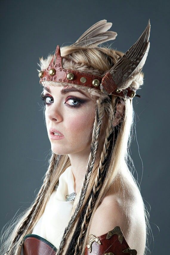 maquillage viking
