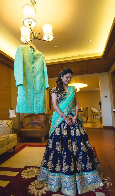 Beautiful Bridal Half Saree