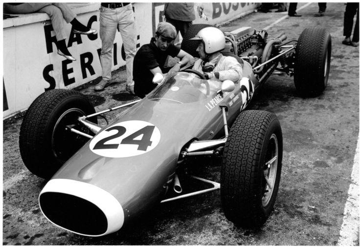 1966 Chris Lawrence - Cooper T73 Ferrari - JA Pearce Engineering