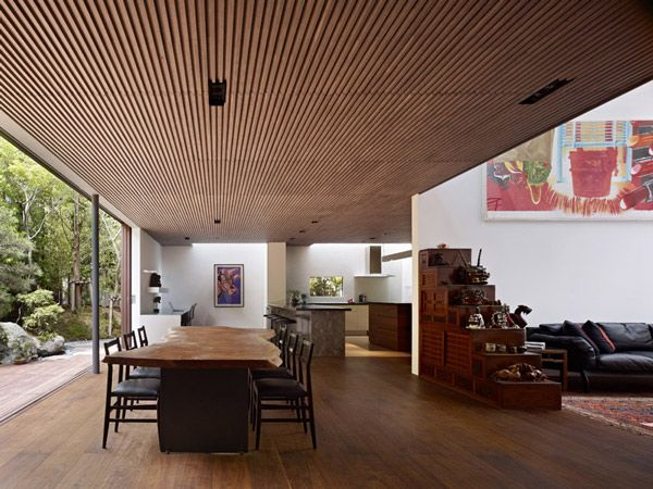 """""""House S"""" is a beautiful, contemporary, Asian style home designed by Studio Keiji Ashizawa in Japan."""