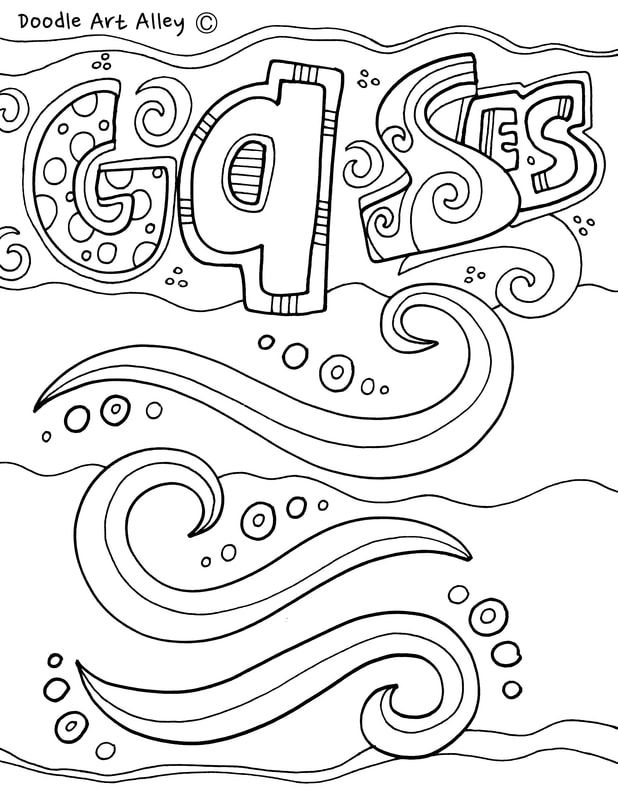 States Of Matter Coloring Pages At Classroom Doodles Doodle Art