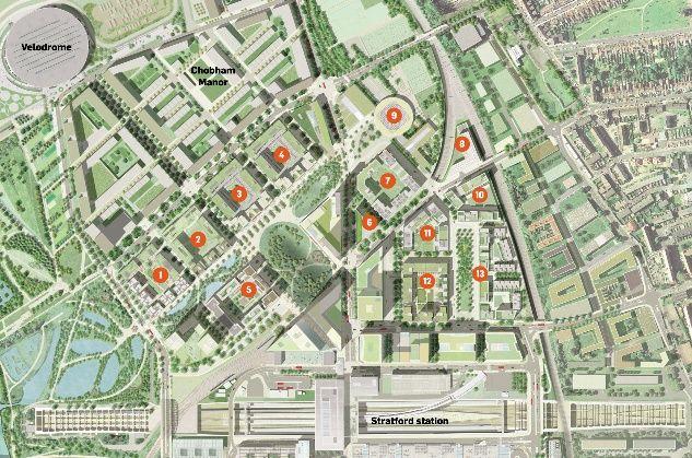 plan olympic village - Google Search