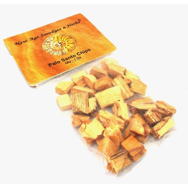 how to burn palo santo wood chips