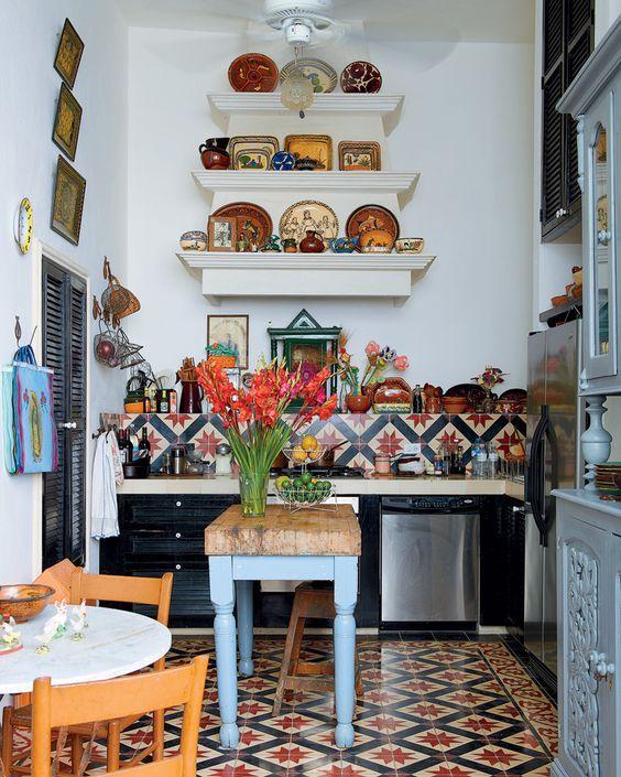 24 best KITCHENS Bohemian images on Pinterest Home ideas Kitchen