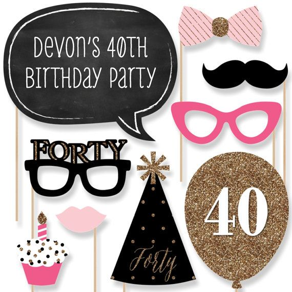 17 best ideas about 40th birthday presents on pinterest for 30th birthday decoration packages