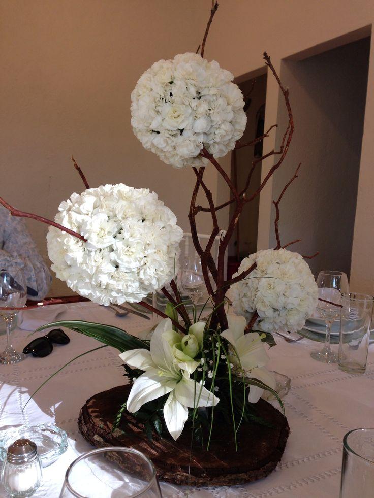 17 mejores ideas sobre centros de mesa sencillos en - Centros de mesa ...