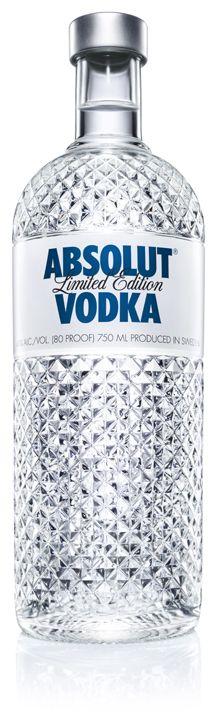 Absolut Glimmer - Botella de Edición Limitada | Limited Edition Bottle