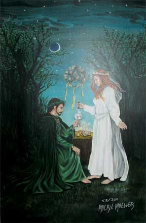 Beltane Grove Wiccan Pagan