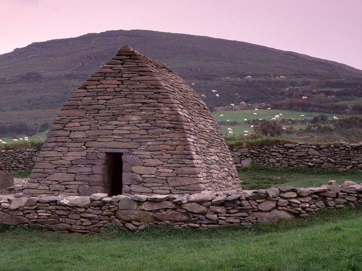 Gallarus Oratory, Dingle Peninsula, one of many early Christian structures we saw in Ireland