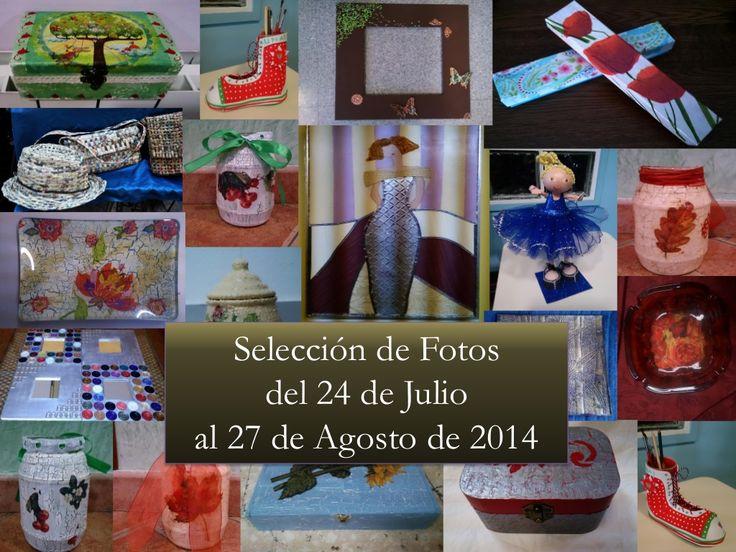 Selección de Fotos de Agosto 2014 by Caridad Yáñez Barrio via slideshare