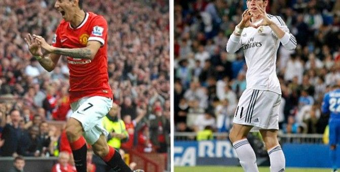 The Manchester United sell Di Maria to undertake the signing Gareth Bale