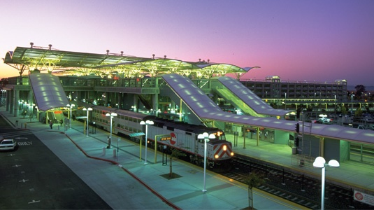 Great work by URS Corporation -BART San Francisco Airport Extension Stations & Parking Structures