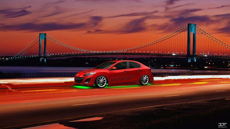 Mazda 3 Sedan 09' #Mazda 3 2009 en 3DTuning #3dtuning #tuning?