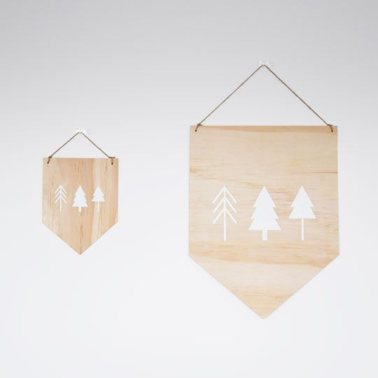 Made By Mee + Co | Trees Ply Banner