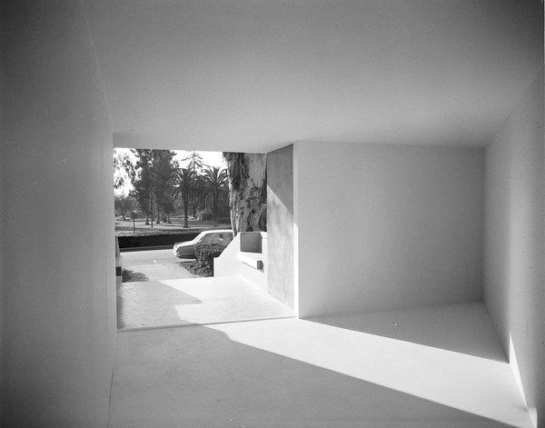 In 1970, Michael Asher created a piece that opened to the street outside Pomona College's museum.