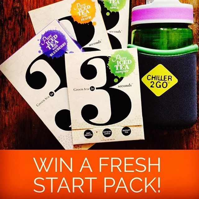 Enter to win a Fresh Start Pack @greenteain3seconds
