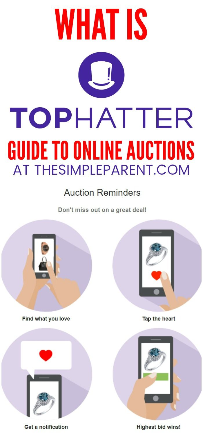 What Is Tophatter If You Re Looking For Online Auction Sites To Buy And Sell On There Is An Alternative To Ebay For Fast Paced Auction Things To Sell Organization Hacks
