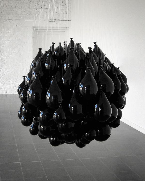 """MICHEL FRANCOIS """"Souffles dans le verre"""", 2002"""