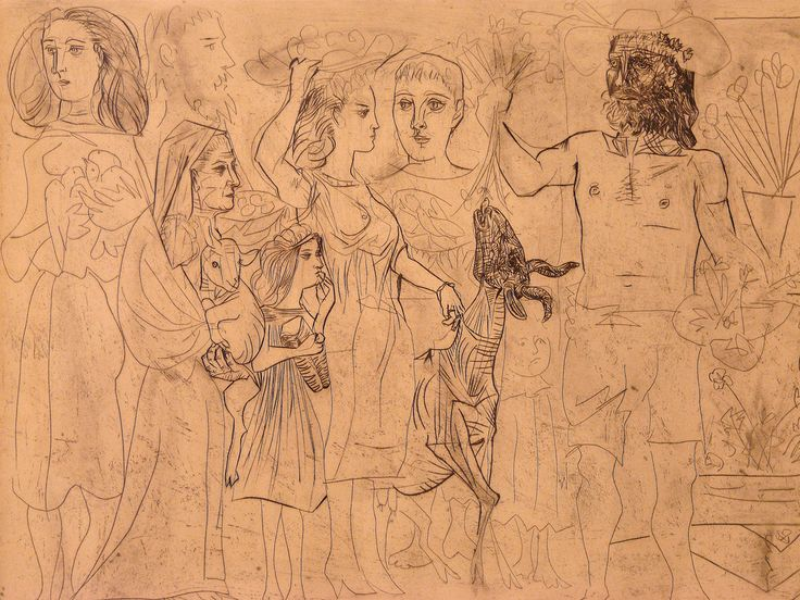 Line Art By Picasso : Picasso and the women a few mirrors in between part ii