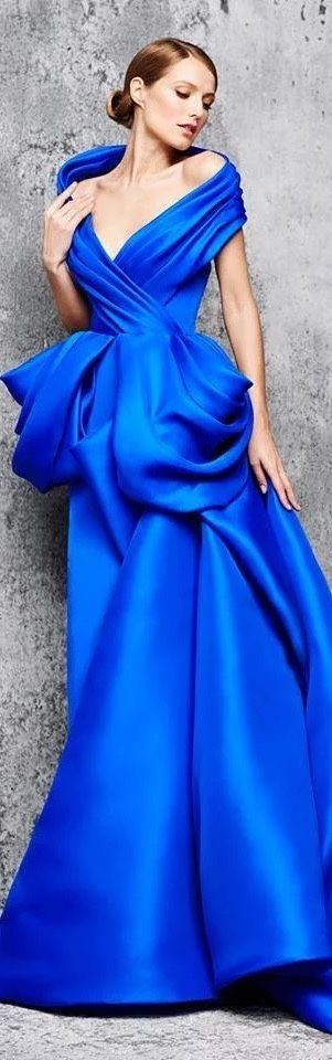 Blue Heavenly Gown of Gorgeous!!!
