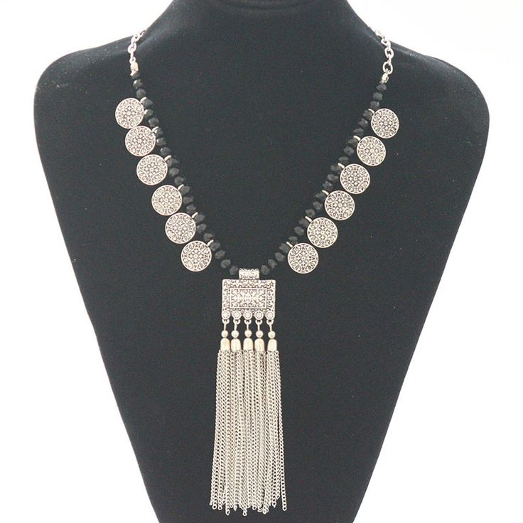 2016 New Arrival Fashion Tassels vintage coin Necklaces Colar turco indian ethnic Turkish Necklaces Boho Jewelry for Woman-in Pendant Necklaces from Jewelry & Accessories on Aliexpress.com | Alibaba Group