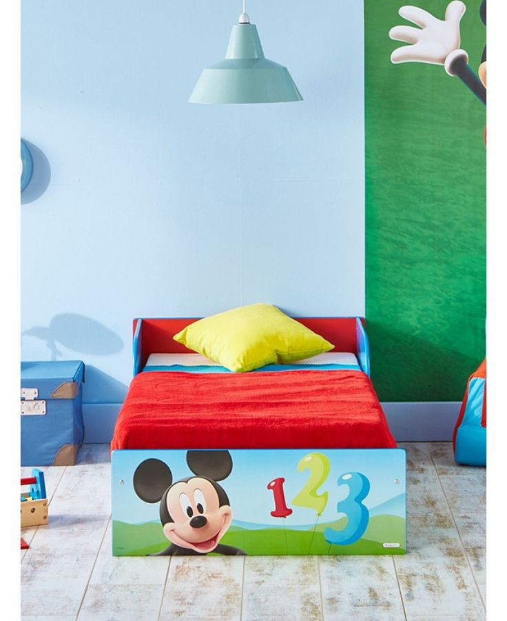 Make The Move From Cot To A Big Bed Easy With This Mickey Mouse Toddler On Imagination But Pocket Will Have Your