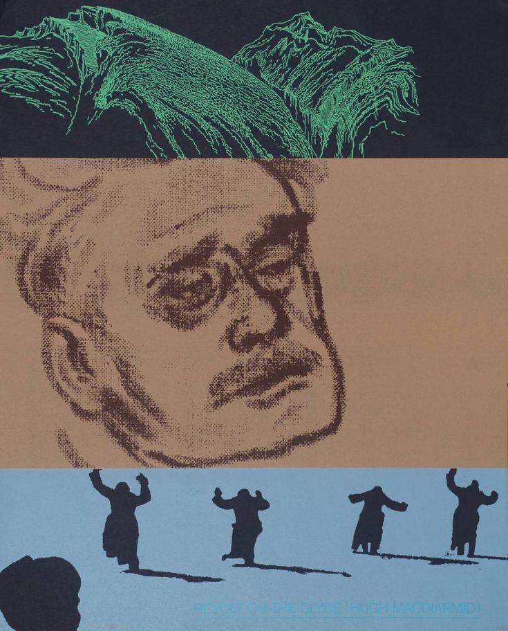 Revolt on the Clyde (Hugh McDiarmid) 1966-70  R.B. Kitaj