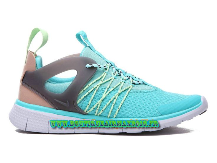 Nike Free Viritous Chaussures Nike Pas Cher Pour Homme Gris/Vert 725060-ID1H