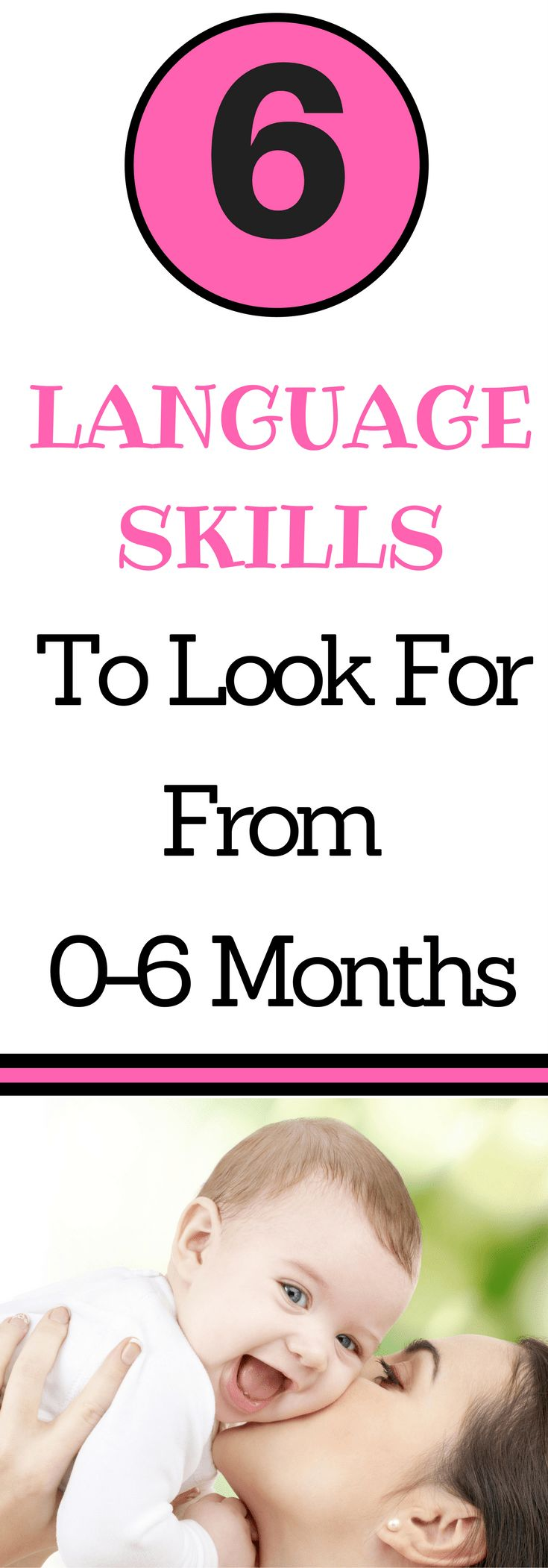 Complete Guide To Language Development 0 6 Months