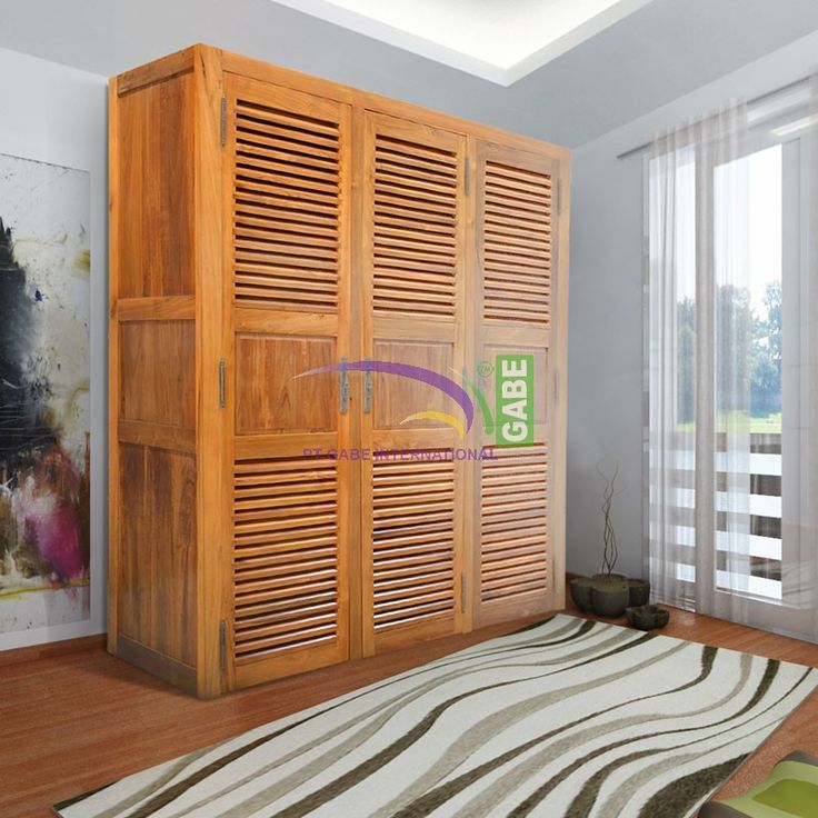 #walkingcloset #cabinet #louvredesign made from #teakwood #handmade #handcrafted #indonesianfurniture #furniture #furnituretiday #balifurniture more collection visit www.gabeart.com ...enjoy your time