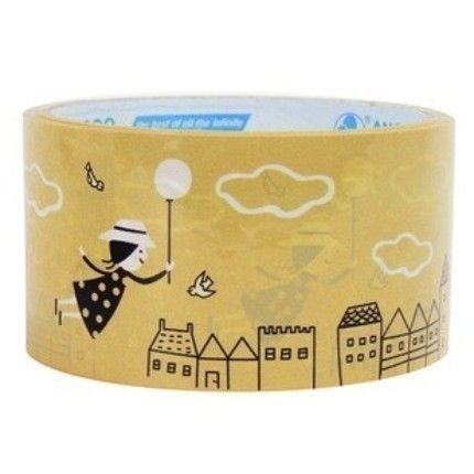 Wide Deco Tape for sealing packages or using in crafting.  So Cute.